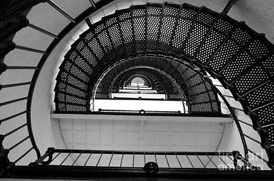 Art Print featuring the photograph Stairs by Andrea Anderegg