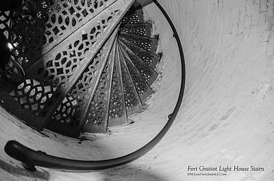 Photograph - Stairs At The Fort Gratiot Light House by LeeAnn McLaneGoetz McLaneGoetzStudioLLCcom