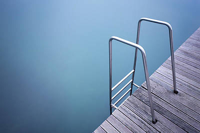 Ladder Photograph - Stairs by Damiano Serra
