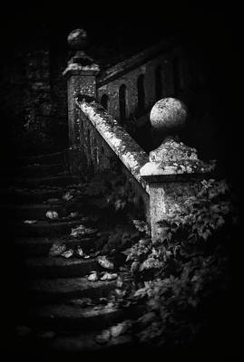 Decay Photograph - Stairs Decay by Marianne Siff Kusk