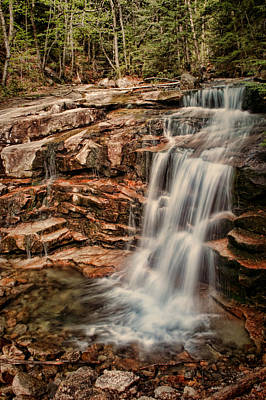 Photograph - Stairs Falls Overlook by Heather Applegate