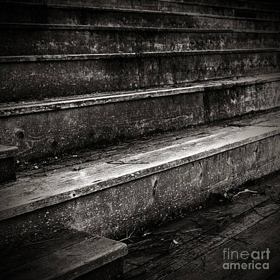 Stairs Infinity Art Print by Charmian Vistaunet