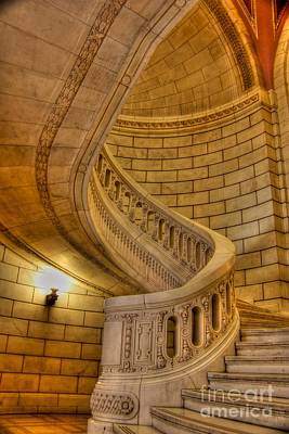 Stair Case Photograph - Stairs Of Mythical Proportion by David Bearden