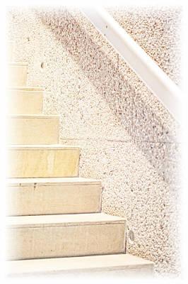 Photograph - Stairs Phoenix Art Musuem Art by Bob Coates