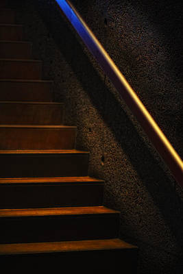 Photograph - Stairs Phoenix Art Musuem by Bob Coates