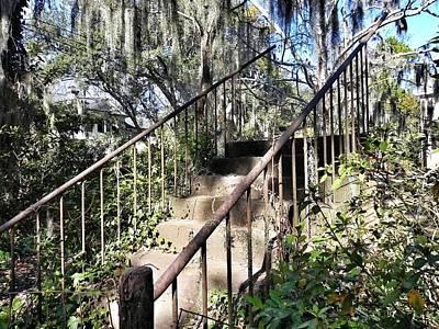 Stairs That Go Nowhere Art Print
