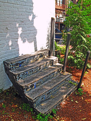 Soap Suds - Stairs to No Where by Barbara McDevitt