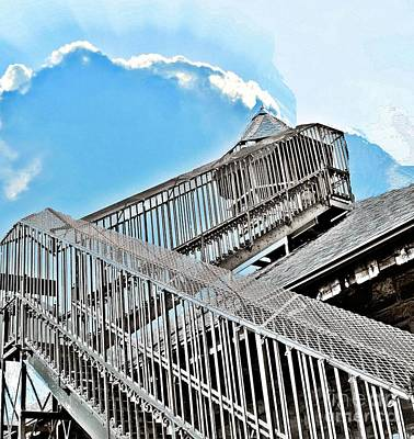 Photograph - Stairs To The Lookout by Janette Boyd