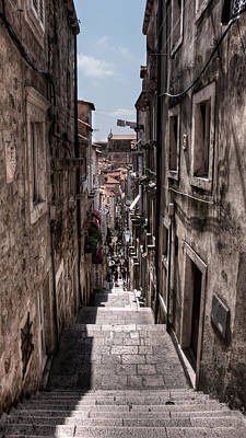 Photograph - Stairs Towards The Ramparts by Weston Westmoreland