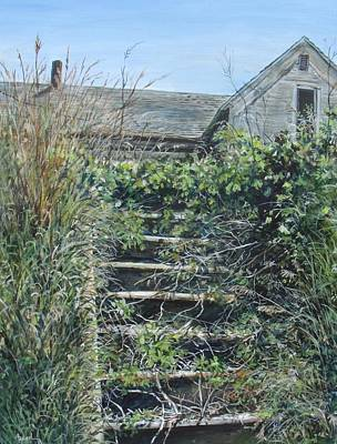 Painting - Stairs by William Brody