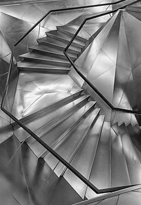 Stairs.caixa Forum Art Print