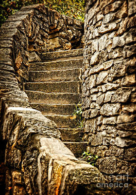 Photograph - Stairway Back In Time by Lincoln Rogers