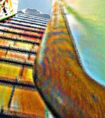 Photograph - Stairway  by Dart and Suze Humeston