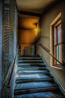 Photograph - Stairway by David Hahn