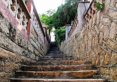Photograph - Stairway by Ethna Gillespie