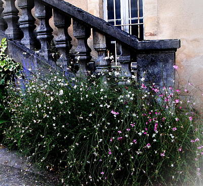 Photograph - Stairway In Sarlat France by Jacqueline M Lewis