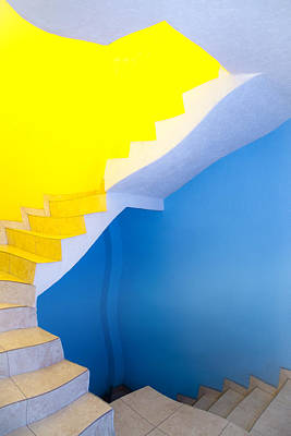 Stairway Art Print by John  Bartosik