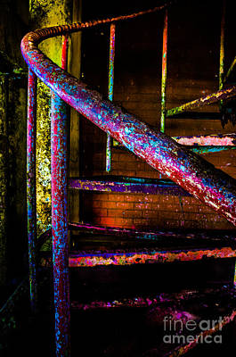 Photograph - Stairway by Michael Arend