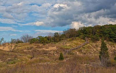 Photograph - Stairway Of The Dunes by John M Bailey