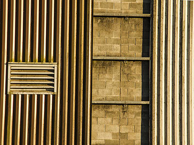 Photograph - Stairway On Building by Jean Noren