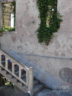 Stairway To Alcatraz Art Print by Mark Etchason