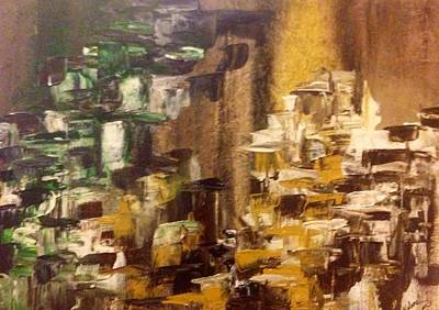 Abstract Art Painting - Stairway To Anywhere by Kolene Parliman