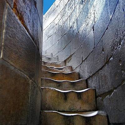 Decorative Wall Art - Photograph - Stairway To... by Carlos Alkmin