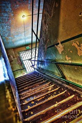 Birdman Photograph - Stairway To Creepyville by Andrew Brooks