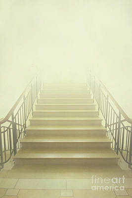 Stairway To Heaven Art Print by Evelina Kremsdorf