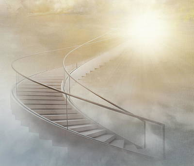 Surreal Photograph - Stairway To Heaven by Gaby Grohovaz