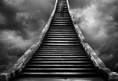 Stairway To Heaven Photograph By Helena Georgiou