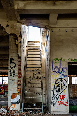 Stairway To Heaven? I Don't Think So... Art Print