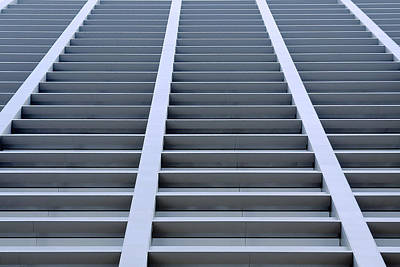 Geometric Shapes Photograph - Stairway To Heaven In Houston by Christine Till