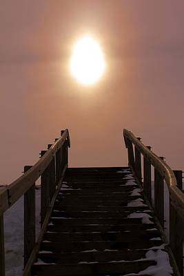 Path In Life Photograph - Stairway To Heaven In Ohio by Dan Sproul