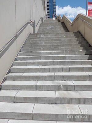 Stairway To Heaven Art Print by James Dolan