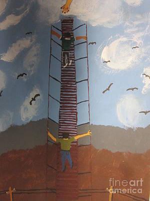 Stairway To Heaven Art Print by Jeffrey Koss