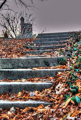 Photograph - Stairway To Heaven by Mark Bowmer