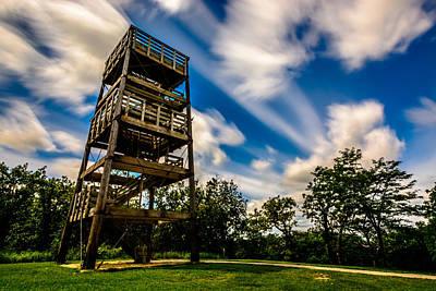 Stairway To Heaven Art Print by Randy Scherkenbach