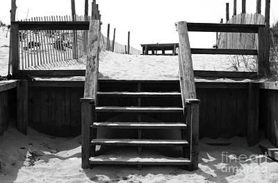 Stairway To Lbi Heaven Print by John Rizzuto
