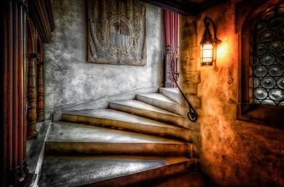 Stairway To My Heart Art Print by Linda Karlin