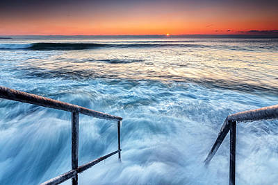 Black Sea Photograph - Stairway To Sea by Evgeni Dinev