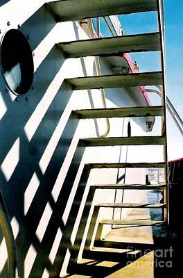 Photograph - Stairway To Shadows by Michael Hoard
