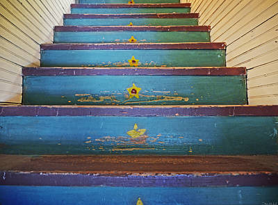 Stairway To...... Art Print by Steven Michael
