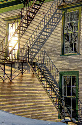 Photograph - Stairway To The Sun by John Meader