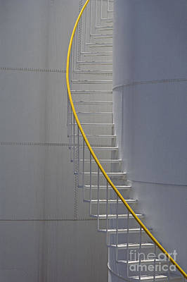 Winter Animals Rights Managed Images - Stairway up Holding Tank Royalty-Free Image by Jim Corwin
