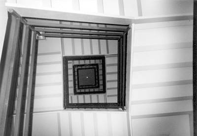 Art Print featuring the photograph Stairwell by Tarey Potter