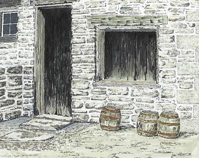 Drawing - Stale Ale by Dan Haley