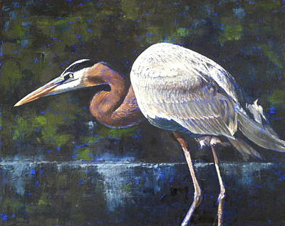 Painting - Stalking by Pam Talley