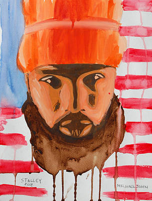 Painting - Stalley by Michael Ringwalt
