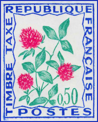 Taxation Painting - Stamp Tax 3 by Lanjee Chee